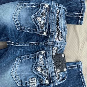 Miss me jeans for young girl size 14